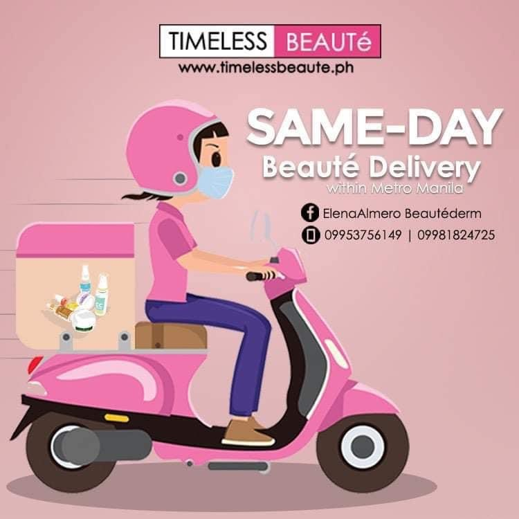 We deliver on same day